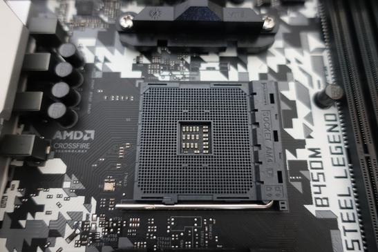 CPUソケットの画像