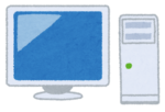 デスクトップパソコンのイメージ画像